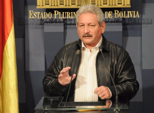 El Gobernador De Santa Cruz, Rubén Costas Aguilera.
