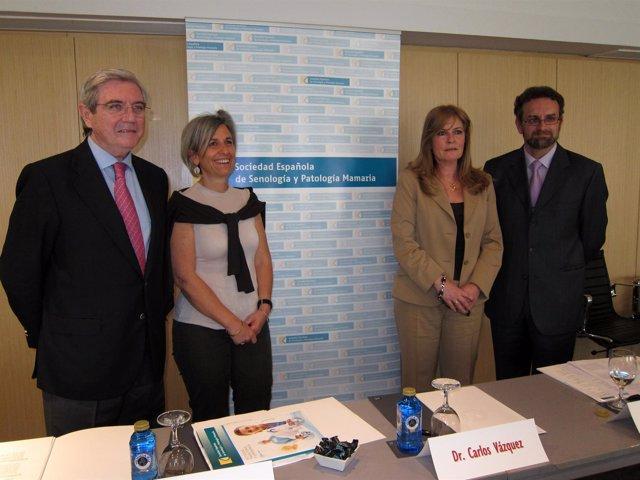 El Doctor Vázquez (I), La Doctora Bernet,  La Doctora Giménez Y El Doctor Vidal