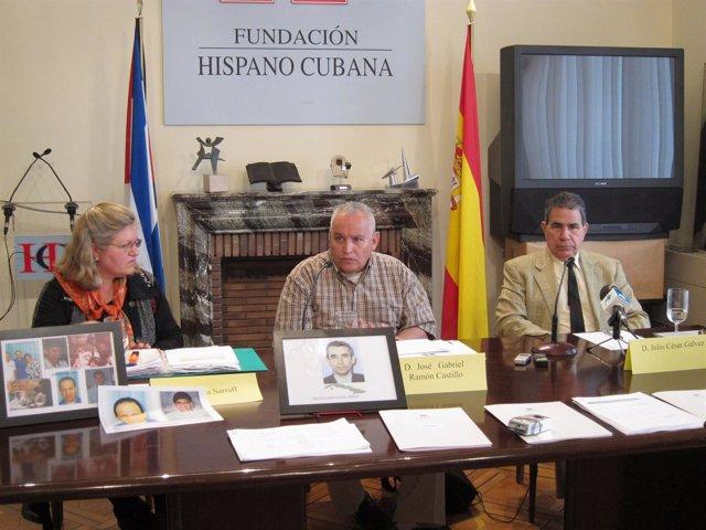 Ex Presos Políticos Cubanos Y Hermana De Un Preso Político