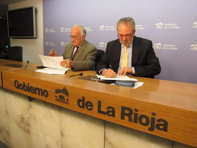 Nieto Y Reinares Firman Un Convenio