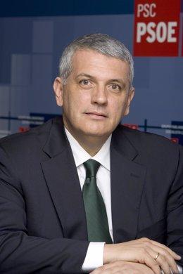 El diputado del PSOE Manuel Marcos Pérez