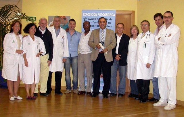 Componentes Del Hospital De Valme (Sevilla) Galardonados Por Su Trabajo En Haiti