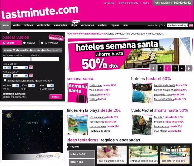 Web Lastminute