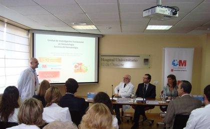 El H. 12 de Octubre de Madrid cuenta con una unidad especializada para investigar enfermedades hematológicas