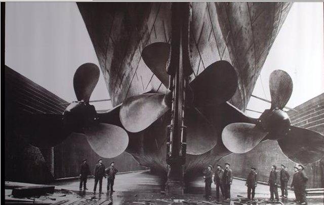 El Titanic En 1912