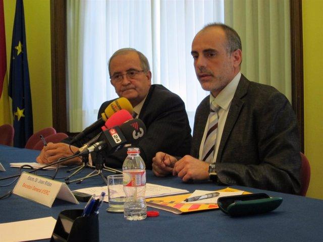 Josep González (Pimec) Y Joan Ridao (ERC)