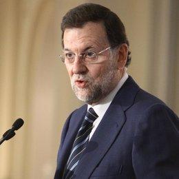 Imagen De Mariano Rajoy En Un Desayuno