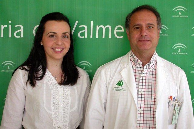 Los Doctores Rafael Espino E Inmaculada Gálvez, Del Hospital De Valme