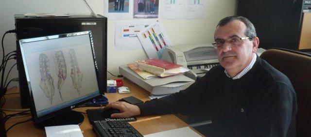 """Director Del Grupo De Investigación """"Biomateriales"""", José Antonio Púertolas"""