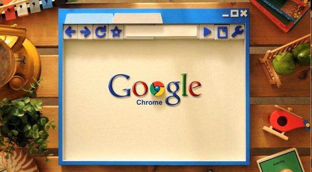 Navegador Web De Google Chrome