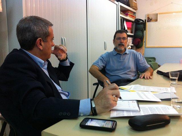 Comunicado De Prensa PSOE Tenerife. Reunión Con AFATE