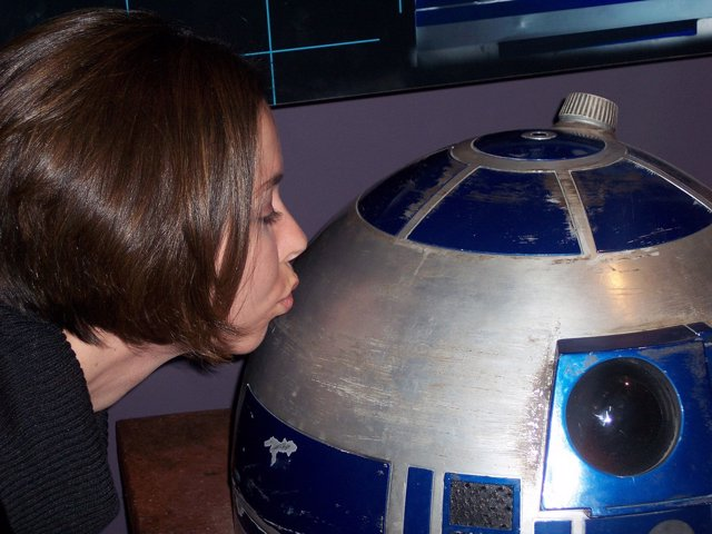 Beso A R2-D2