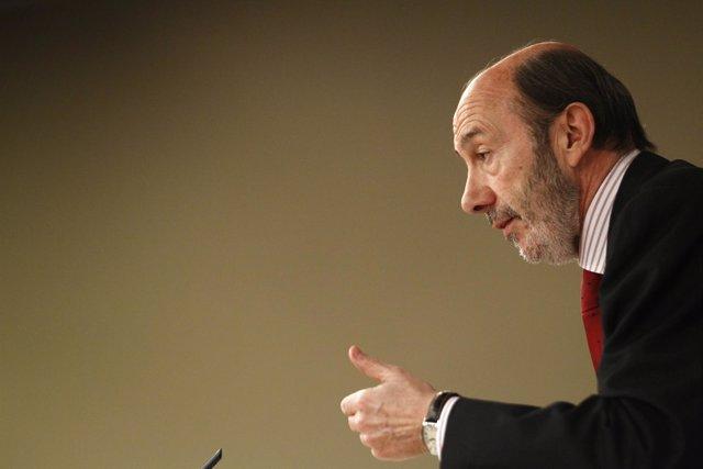 Vicepresidente De Gobierno, Alfredo Pérez Rubalcaba