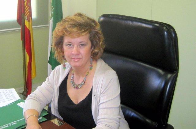 La Directora General De Infancia, Teresa Vega, En Su Despacho