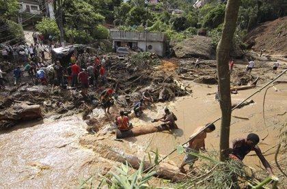 Ascienden a 12 los fallecidos a causa de las lluvias en Brasil