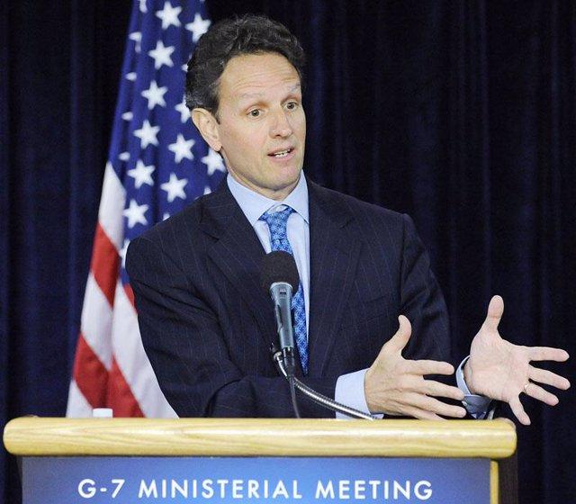 El secretario del Tesoro de Estados Unidos, Timothy Geithner