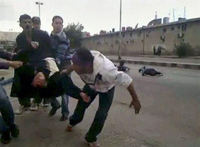Violencia En La Ciudad De Deraa