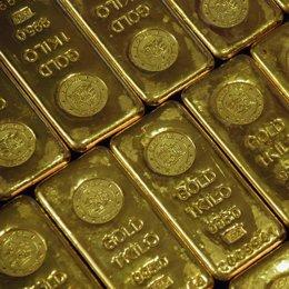 lingotes de oro recurso