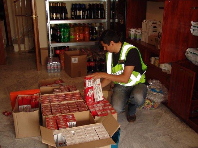 Operación Contra El Tabaco De Contrabando