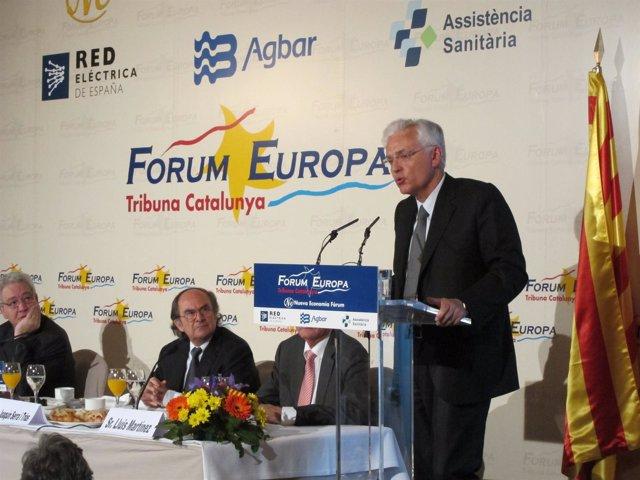 Ferran Mascarell En El Forum Europa