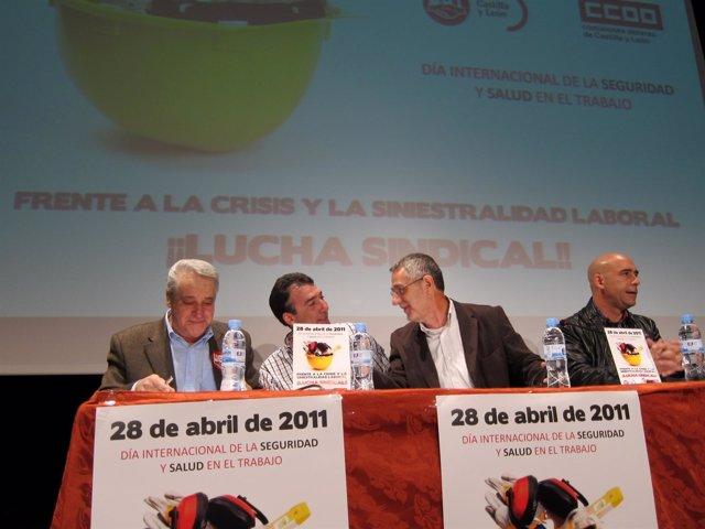 UGT Y CC.OO. Organizan Una Jornada Contra La Siniestralidad Laboral