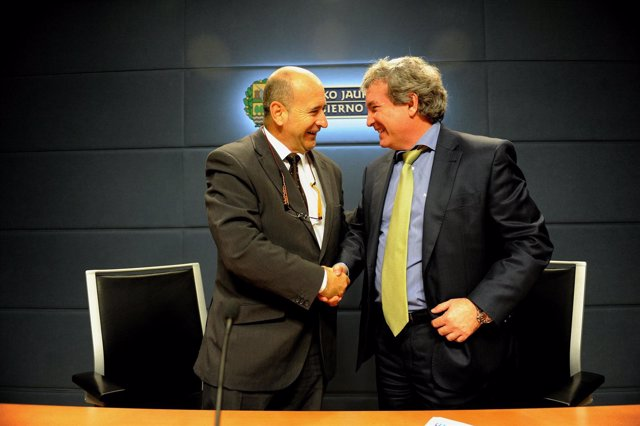 Carlos Osés y Juan Goicolea