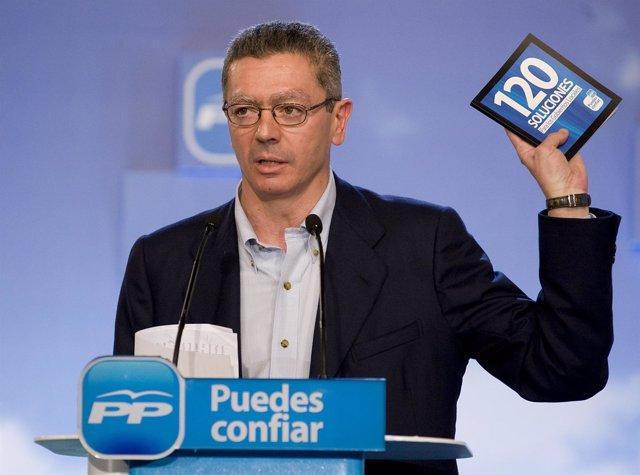 Gallardón en la Convención Municipal del PP