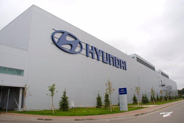 Fábrica de Hyundai en Rusia