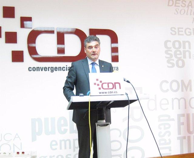 El Presidente De CDN, José Andrés Burguete.