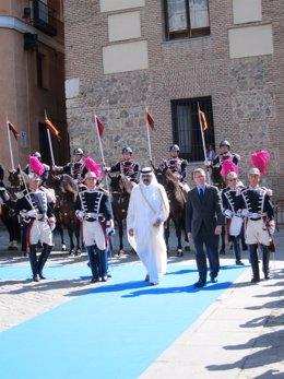 Visita Del Emir De Qatar