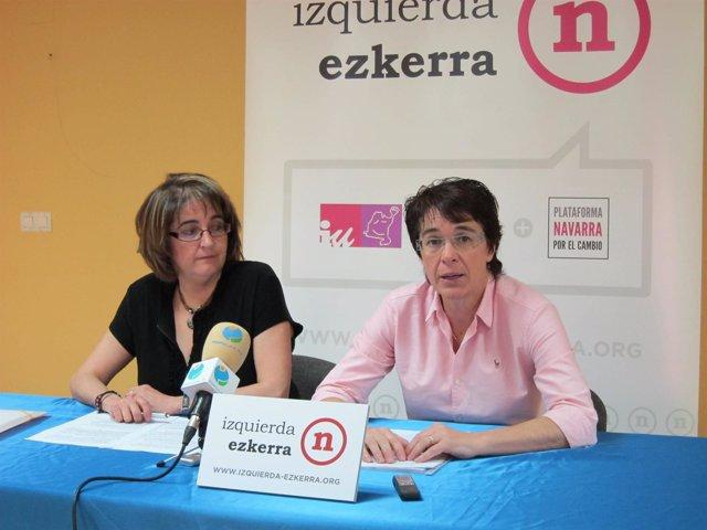 Pilar Gastón Y Edurne Eguino, De Izquierda-Ezkerra