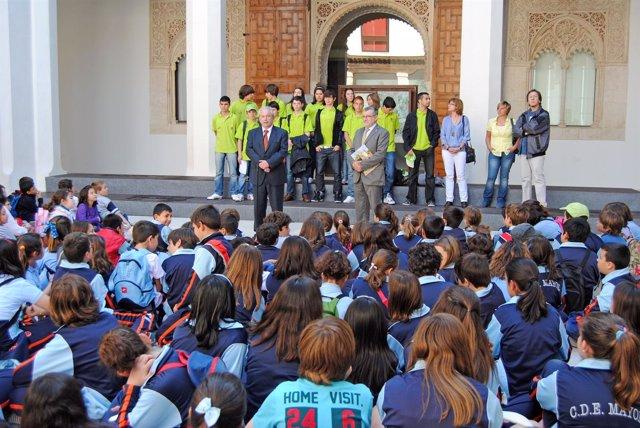 Toledo, 28-04-2011.- El Director General De Patrimonio Cultural, Luis Martínez,