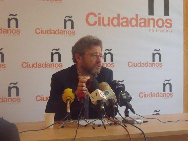 Julio Revuelta, Candidato De Ciudadanos De Logroño Al Ayuntamiento