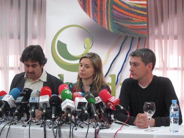 Pello Urizar, Aitziber Ibaigarriaga Y Oskar Matute