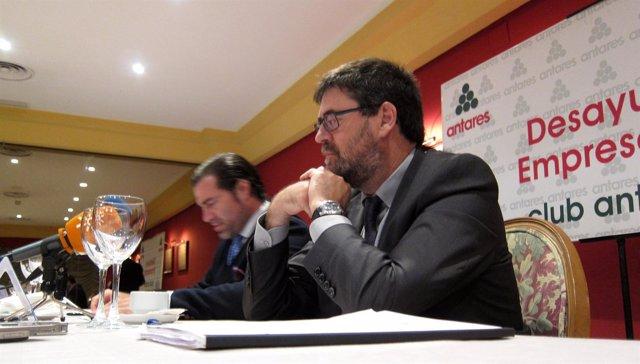 El Consejero Mayor De La Cámara De Cuentas, Antonio M. López.