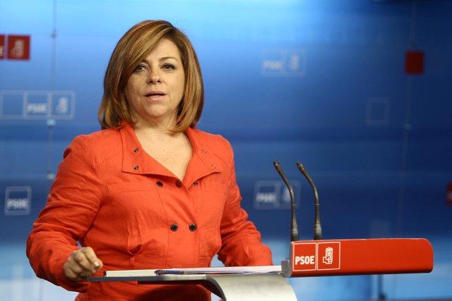 Portavoz Del Comité Electoral Del PSOE, Elena Valenciano