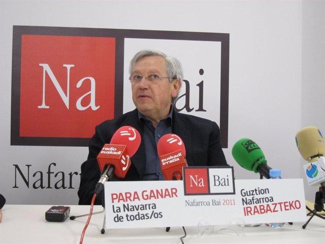Candidato De Nabai 2011 A La Presidencia Navarra, Patxi Zabaleta