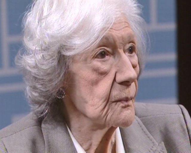 Ana María Matute recibe Premio Cervantes 2010