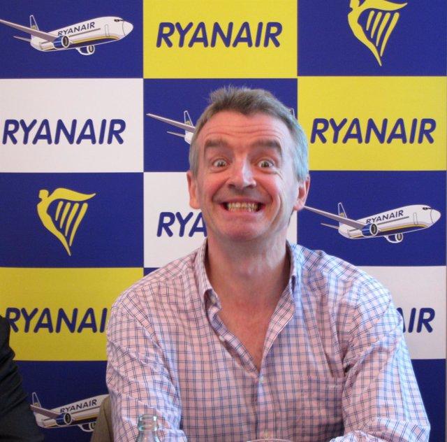 Presidente De Ryanair, Michael O'leary
