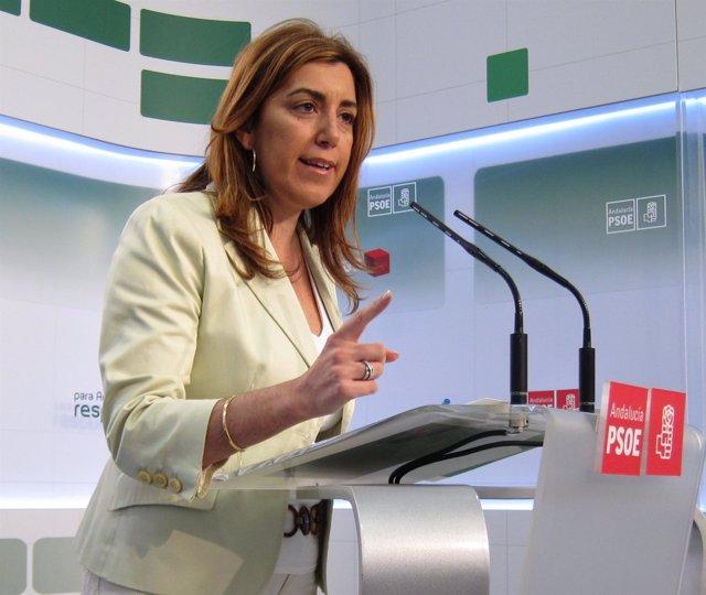 Susana Díaz, Este Jueves En Rueda De Prensa