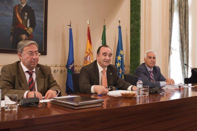 Foto Pleno Ordinario Marzo 2011 GABINETE DE PRENSA DIPUTACION DE BADAJOZFOTOGRAF