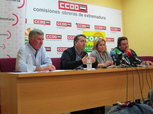 UPA-Uce, COAG, UGT Y CCOO Firman El Convenio Del Campo Extremeño