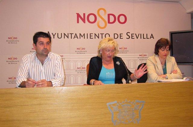 Rueda De Prensa De La Edil De Fiestas Mayores, Rosamar Prieto-Castro