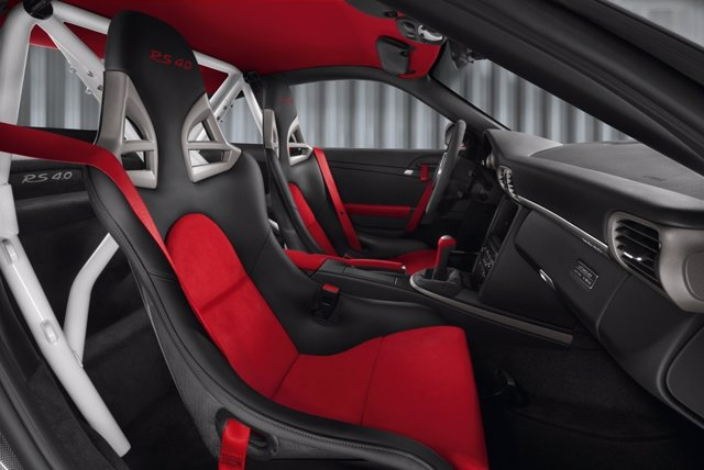 Interior Del Porsche GT3 RS 4.0