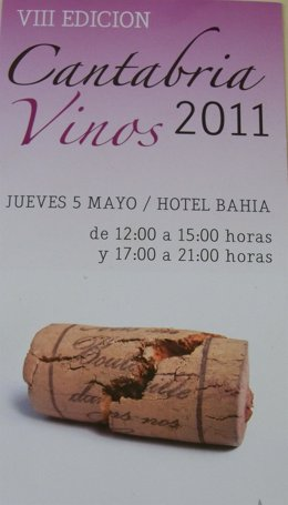 Presentación VIII Feria Vinos Cantabria