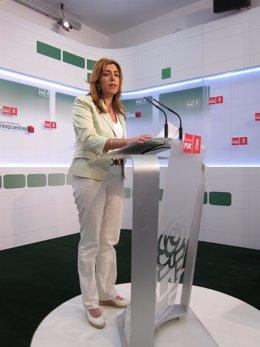 Susana Díaz, En Rueda De Prensa Este Jueves