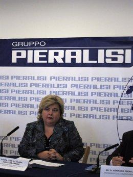 La Consejera De Agricultura Y Pesca De La Junta De Andalucía, Clara Aguilera.