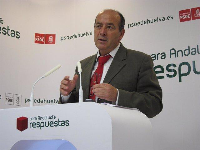 El Secretario De Agricultura Del PSOE De Huelva, Juan Manuel López.