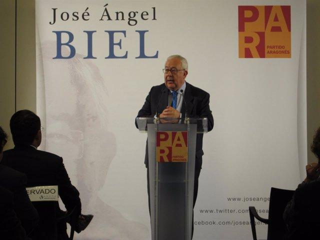 El Vicepresidente Aragonés Y Presidente Del PAR, José Ángel Biel