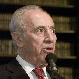 el presidente de israel simon peres
